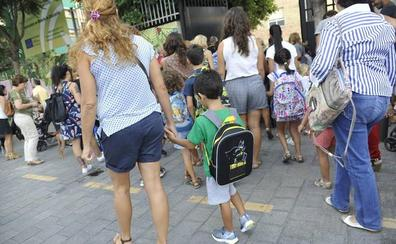Sólo un 2,3% de los escolares andaluces no estarán el próximo curso en los centros elegidos por sus padres