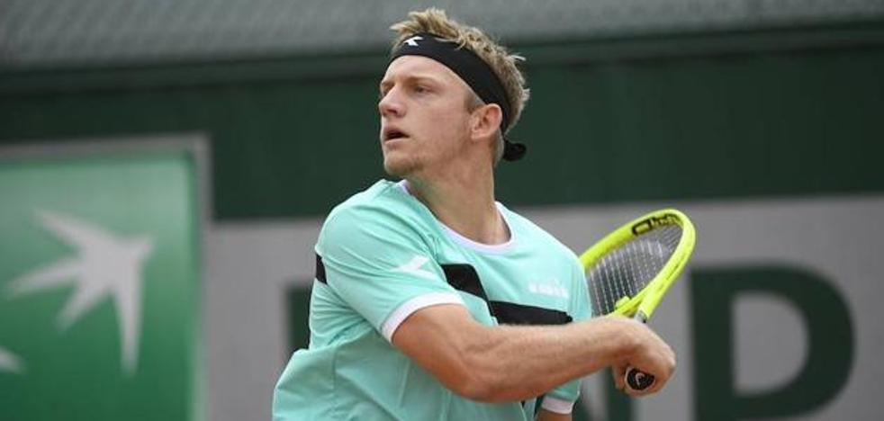 Davidovich, segundo suplente para entrar como 'lucky loser' en Roland Garros