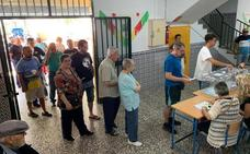 Los candidatos de Málaga apelan a que haya una alta participación