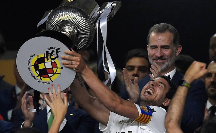 La celebración del Valencia, en imágenes