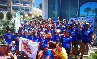 El Real Club Mediterráneo gana el Campeonato de España de remo en banco fijo en llaut