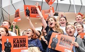 Alemania: los conservadores de Merkel ganarían las elecciones europeas, según los sondeos