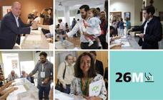 Los candidatos de Antequera ejercen su derecho al voto