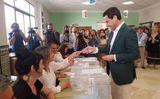 Moreno espera una gran participación y augura una recuperación del voto para el PP