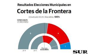 Vecinos alcanza la mayoría absoluta en Cortes de la Frontera