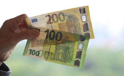 Estos son los nuevos billetes de 100 y 200 euros que circularán a partir de este martes