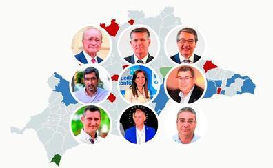 Las municipales dibujan un mapa político en Málaga con menos pactos y más claros