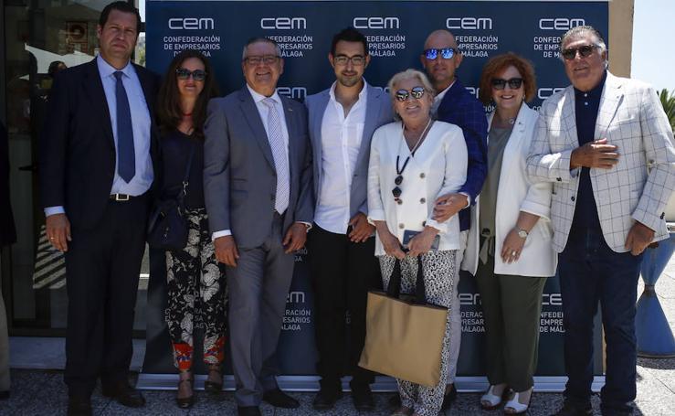 Personalidades y empresarios asistentes a la toma de posesión de González de Lara