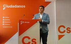 Ciudadanos sitúa al PP como «socio preferente» para pactar en Málaga