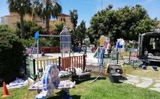 Rincón de la Victoria continúa con el plan de mejoras y rehabilitación de parques infantiles
