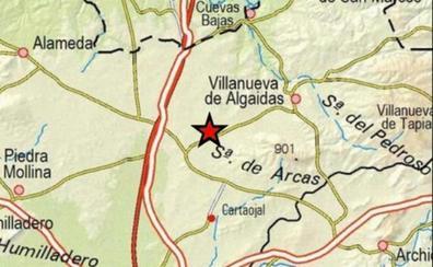 Registrado un terremoto de magnitud 3,5 con epicentro en Villanueva de Algaidas