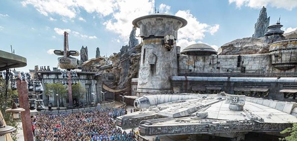 Así es el parque temático sobre 'Star Wars' inaugurado en Disney