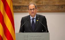 El Supremo rechaza la querella de Torra a la Junta Electoral Central por ordenar la retirada de lazos amarillos
