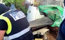 Intervienen casi 6 toneladas de hachís en un desembarco detectado en Manilva