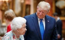 Pompa británica para halagar la vanidad de Trump
