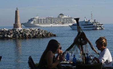 El crucero de los millonarios, en Marbella