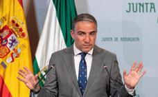El Gobierno andaluz insta a Vox a retirar la enmienda a los Presupuestos para negociar «cuanto antes»