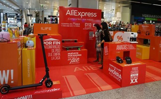 El Corte Inglés venderá siete marcas a través de AliExpress