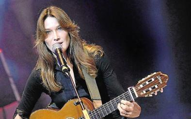 Carla Bruni actuará el próximo sábado en Las Dunas de Estepona en una fiesta privada