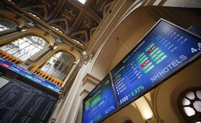 El Ibex-35 sube un 1% y recupera los 9.100 con el apoyo de la Fed y de México