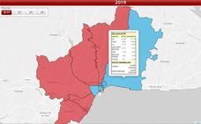 Los datos de las elecciones municipales, colegio a colegio en la provincia de Málaga