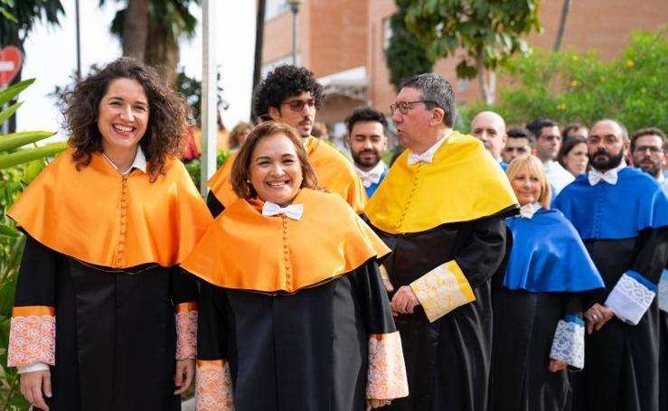 Investidura de los nuevos doctores de la Universidad de Málaga