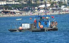 Acosol pone en marcha 13 barcos para mantener la calidad de las aguas