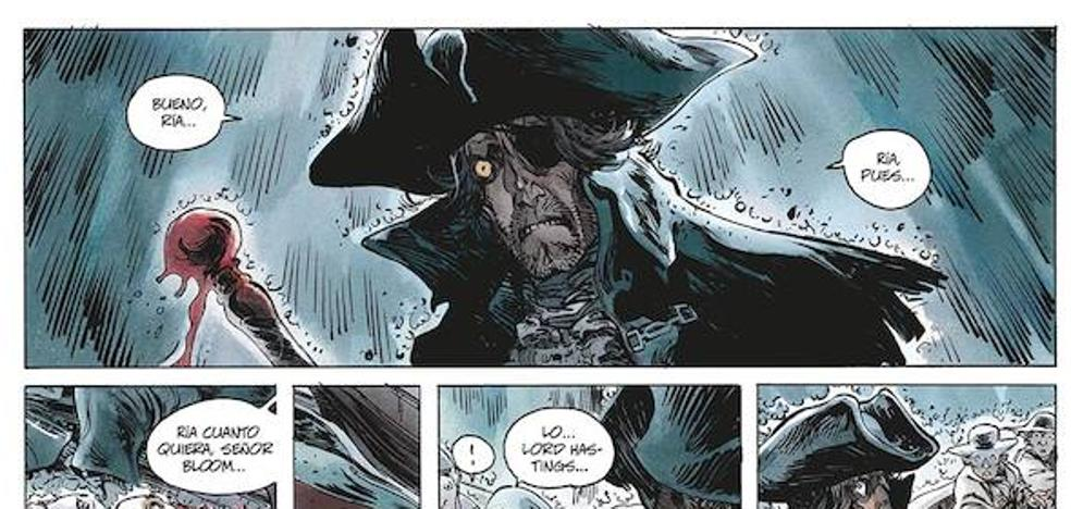 Cómic con sabor a ron y mar: Long John Silver