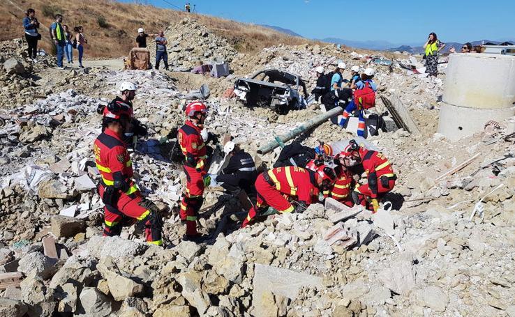 Fotoperiodismo: Málaga frente a las emergencias y catástrofes