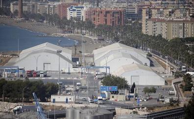 La contratación de dos técnicos permitirá el tráfico de mercancías en el Puerto de Málaga los fines de semana