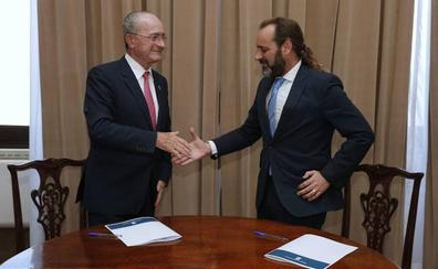 PP y Ciudadanos negocian ya un acuerdo de gobierno para el Ayuntamiento de Málaga