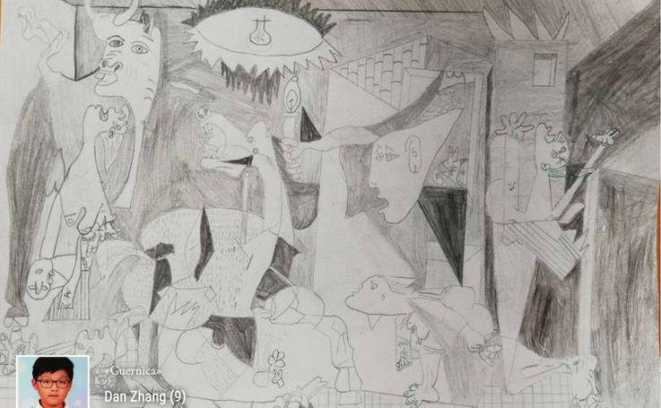 Dibujos más votados en el concurso de la Fundación Orden de la Paz