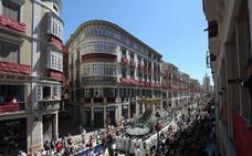 Un juzgado admite a trámite la demanda de un abonado del recorrido oficial de la Semana Santa de Málaga