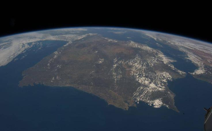 Las espectaculares imágenes de España tomadas por la NASA