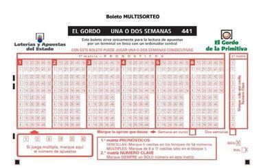El 'Gordo de la Primitiva' deja más de 60.000 euros en Málaga