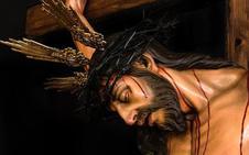La hermandad del Huerto presenta y bendice su Cristo de la Fe