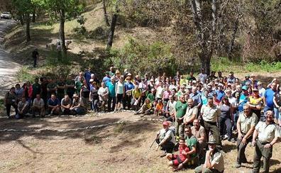 Un sendero en la Sierra de las Nieves recuerda al bombero forestal Manuel García Rosa