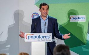 Moreno pide a Vox «altura de miras» para apoyar los presupuestos andaluces