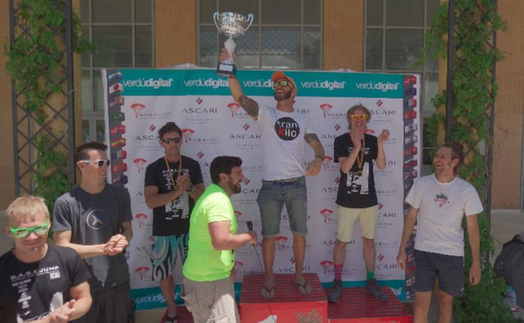 Campeonato mundial de salto BASE en Ronda