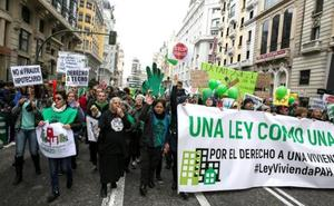 Aumentan los desahucios por impago de alquiler y descienden los hipotecarios en Andalucía