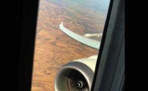 Un vuelo de Madrid a Santo Domingo se da la vuelta por un pasajero que intentó abrir una puerta