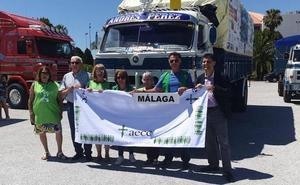'Camioneros contra el cáncer' finaliza su vuelta a España en Málaga