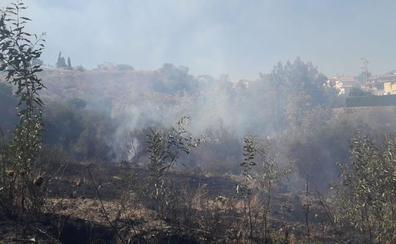 Desalojan cuatro bloques de viviendas por un incendio en Mijas