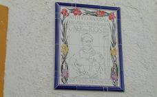 Una cerámica recuerda el primer instituto de Ronda