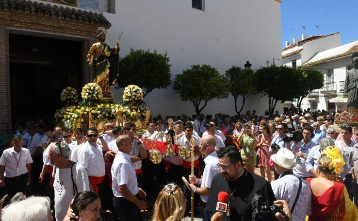 La procesión de San Bernabé de Marbella, en imágenes