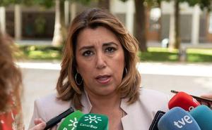 Susana Díaz lamenta que el Gobierno de PP y Cs esté claudicando ante la extrema derecha «si pasa por el aro» de las exigencias de Vox