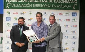 Premios de lujo en la Gala del Balonmano Malagueño 2019