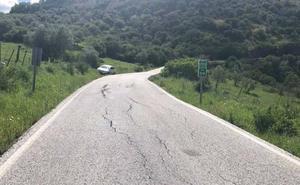 Fomento mejorará la seguridad en la vía de la Serranía de Ronda a la Sierra de Cádiz
