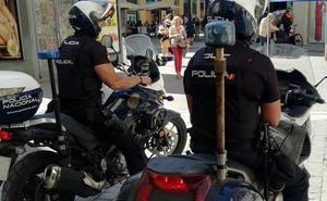 Dos arrestados en pleno robo en una nave industrial en Málaga