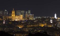 Vistas singulares de Málaga